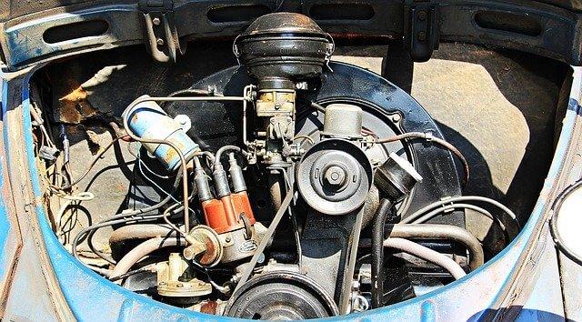 Oude automotor